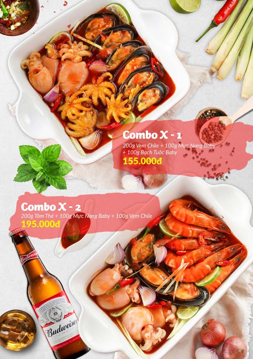 Menu Lobster Bay – Nhà hàng hải sản kiểu Mỹ – Nguyễn Tri Phương 27
