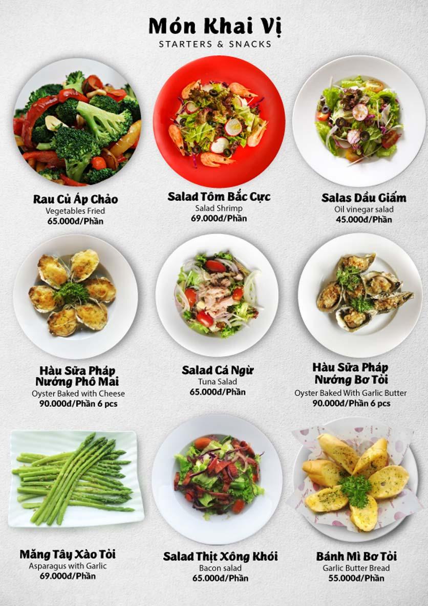 Menu Lobster Bay – Nhà hàng hải sản kiểu Mỹ – Nguyễn Tri Phương 29