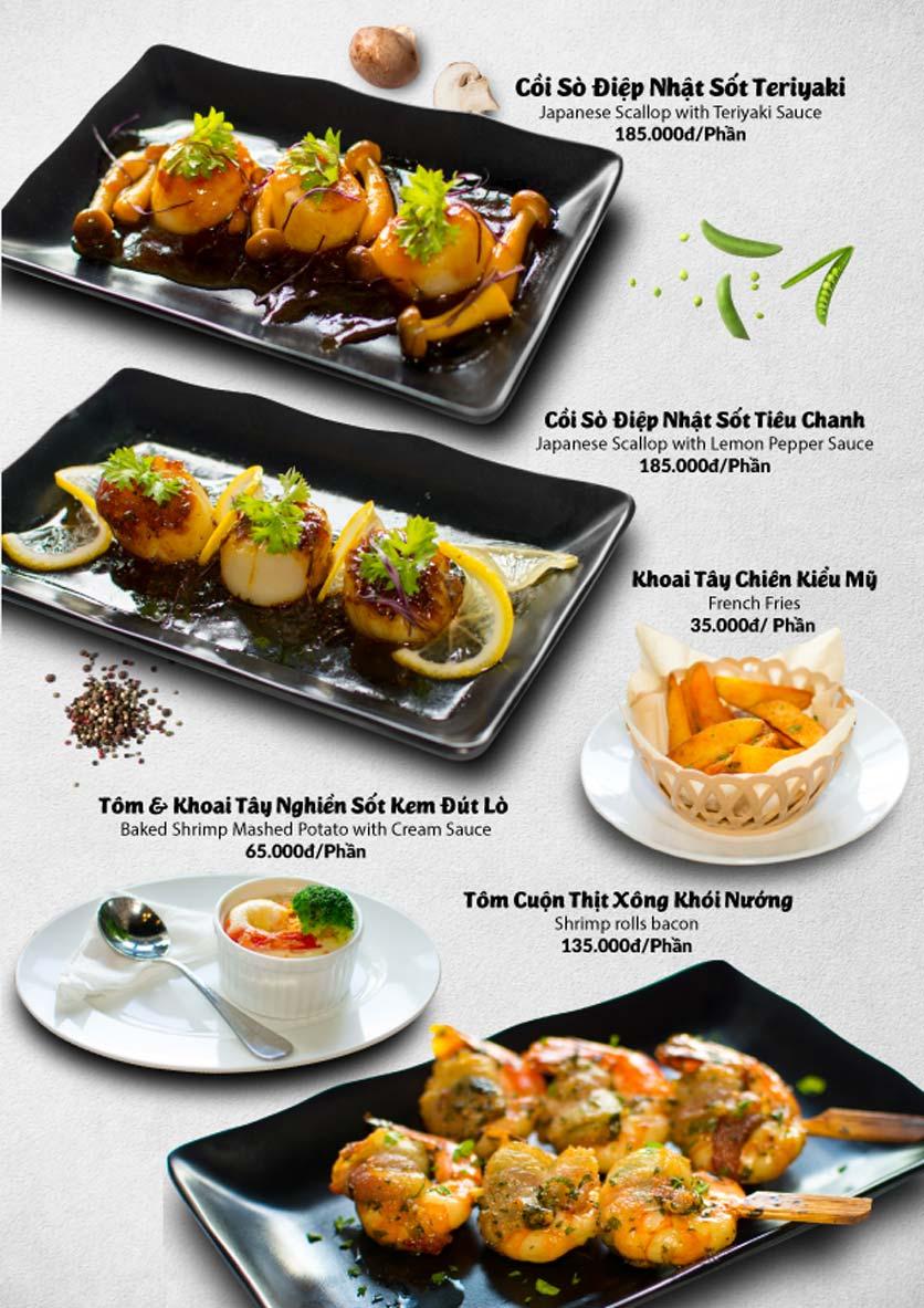 Menu Lobster Bay – Nhà hàng hải sản kiểu Mỹ – Nguyễn Tri Phương 30