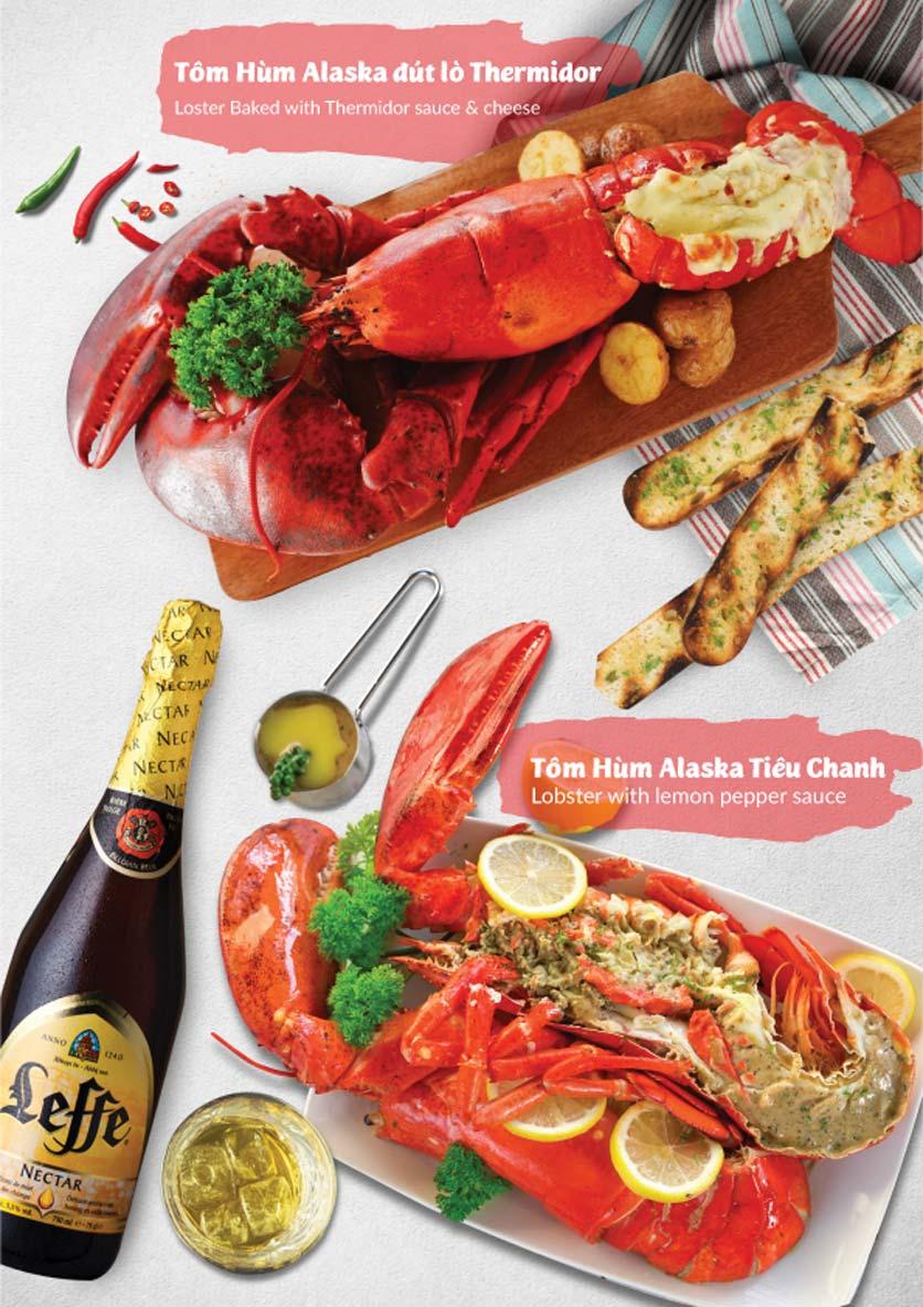 Menu Lobster Bay - Nhà Hàng Hải Sản Kiểu Mỹ - Kỳ Đồng 3