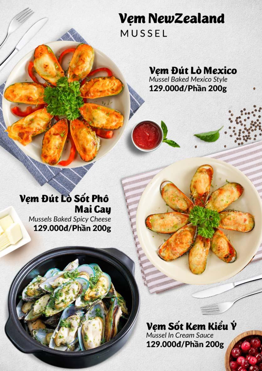Menu Lobster Bay – Nhà hàng hải sản kiểu Mỹ – Nguyễn Tri Phương 32