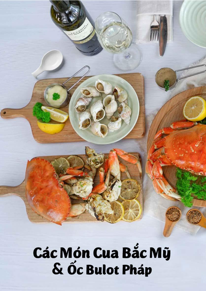 Menu Lobster Bay - Nhà Hàng Hải Sản Kiểu Mỹ - Kỳ Đồng 32