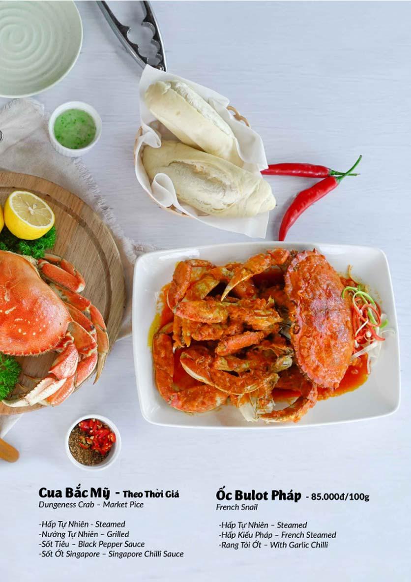 Menu Lobster Bay - Nhà Hàng Hải Sản Kiểu Mỹ - Kỳ Đồng 33