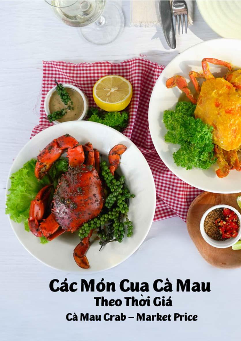 Menu Lobster Bay - Nhà Hàng Hải Sản Kiểu Mỹ - Kỳ Đồng 34