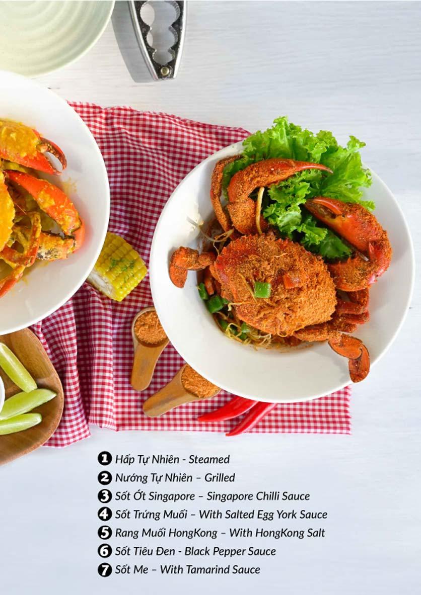 Menu Lobster Bay – Nhà hàng hải sản kiểu Mỹ – Nguyễn Tri Phương 36