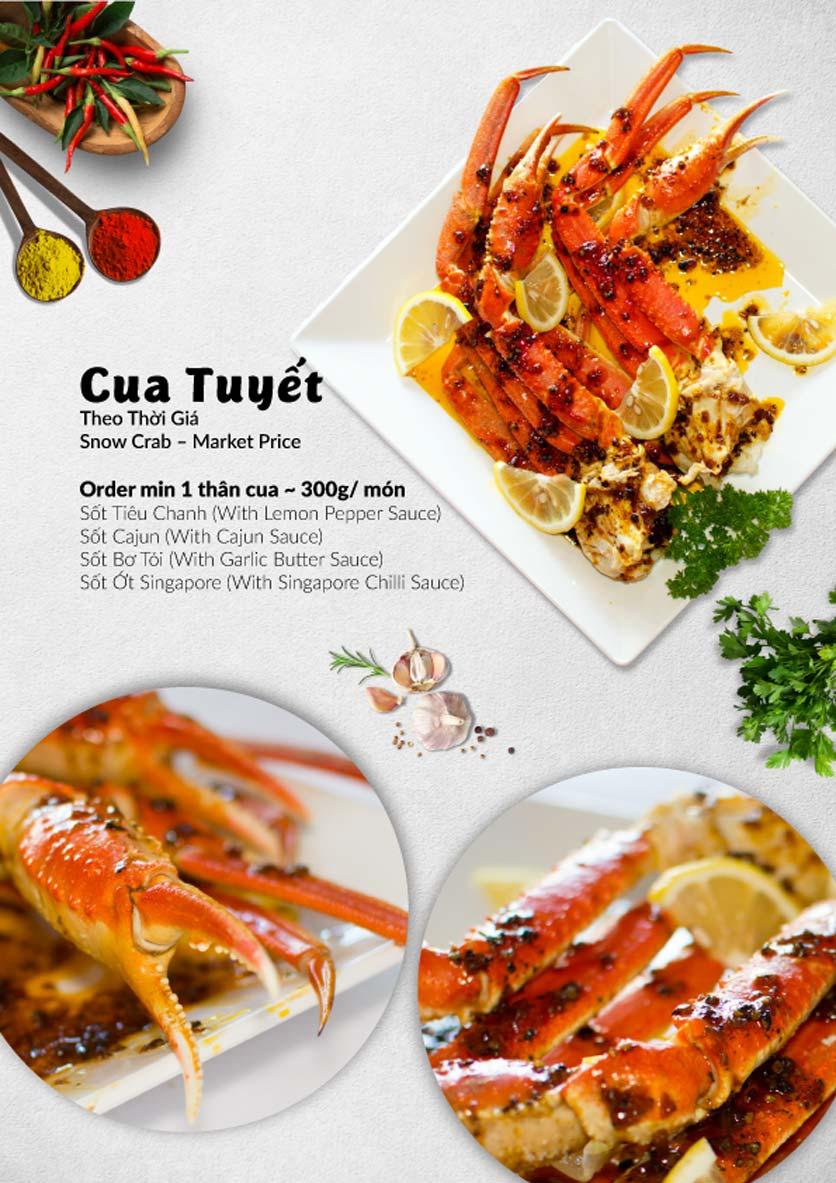 Menu Lobster Bay - Nhà Hàng Hải Sản Kiểu Mỹ - Kỳ Đồng 36