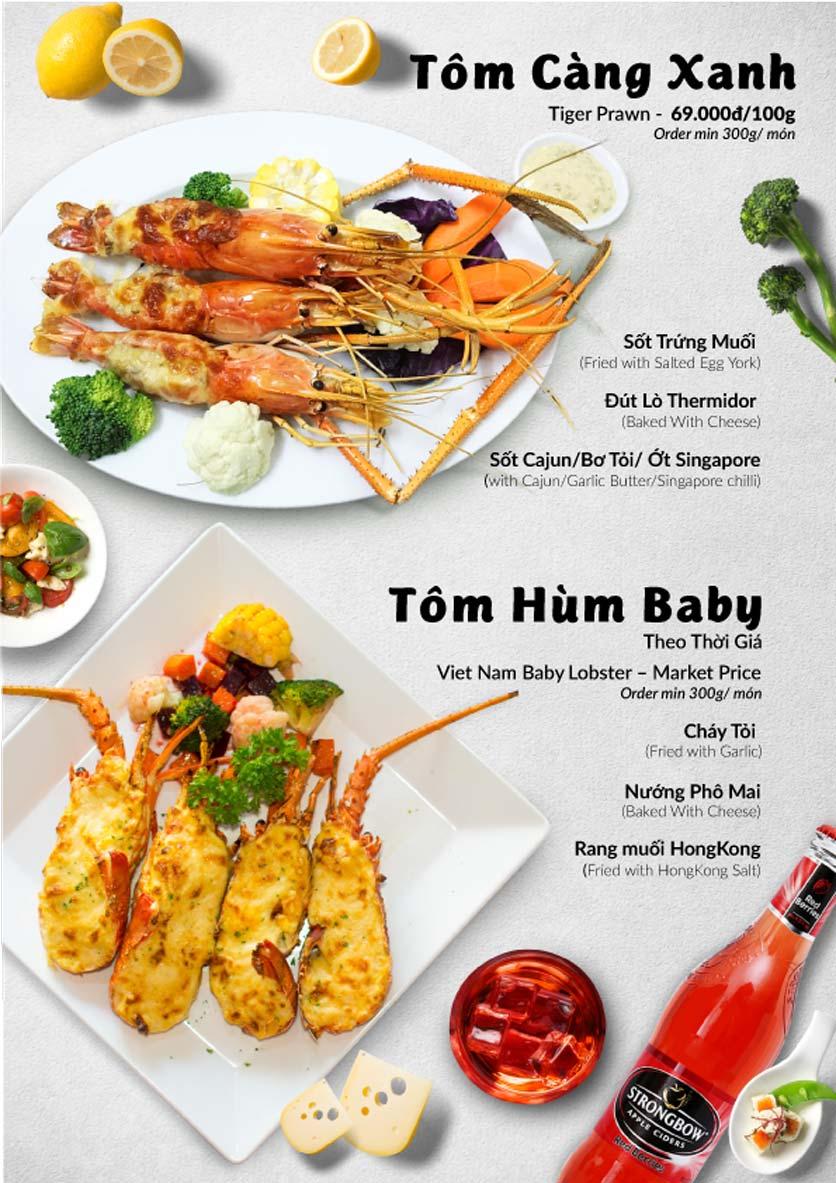 Menu Lobster Bay – Nhà hàng hải sản kiểu Mỹ – Nguyễn Tri Phương 38