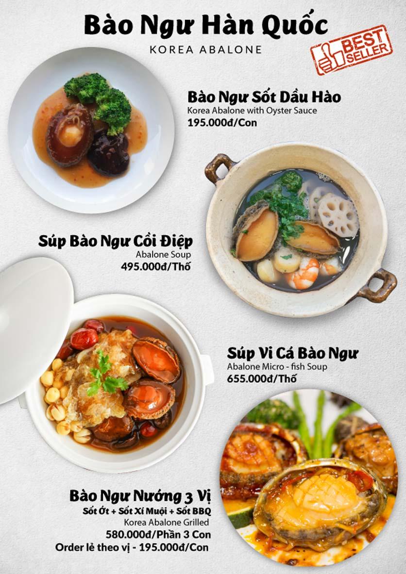 Menu Lobster Bay – Nhà hàng hải sản kiểu Mỹ – Nguyễn Tri Phương 40