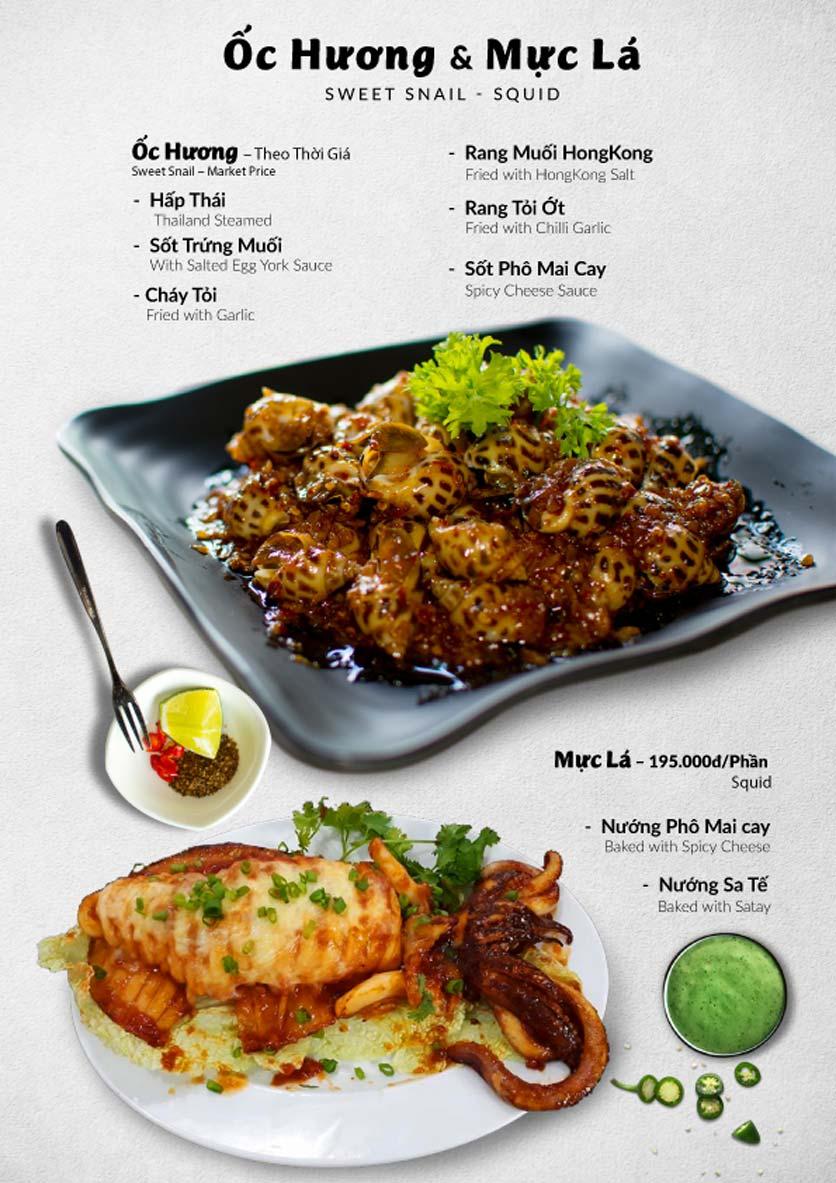 Menu Lobster Bay – Nhà hàng hải sản kiểu Mỹ – Nguyễn Tri Phương 41