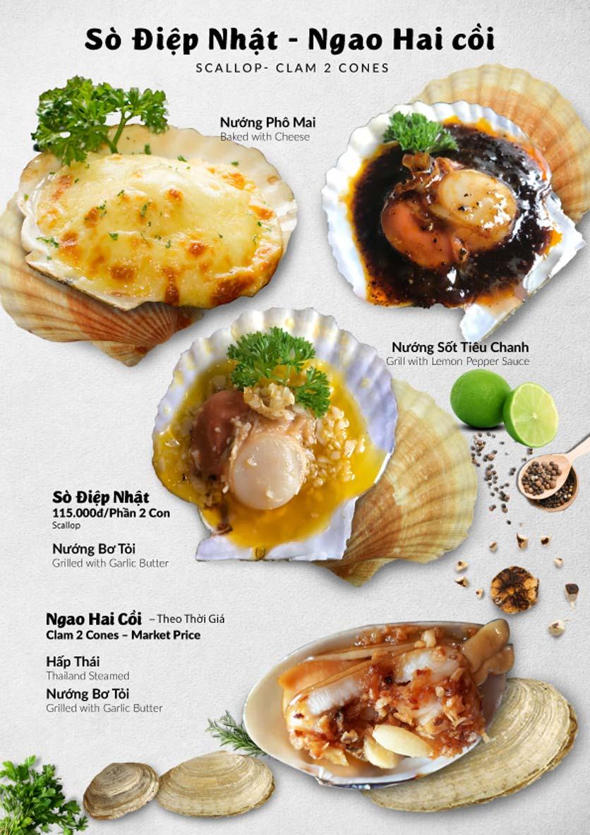 Menu Lobster Bay – Nhà hàng hải sản kiểu Mỹ – Nguyễn Tri Phương 42