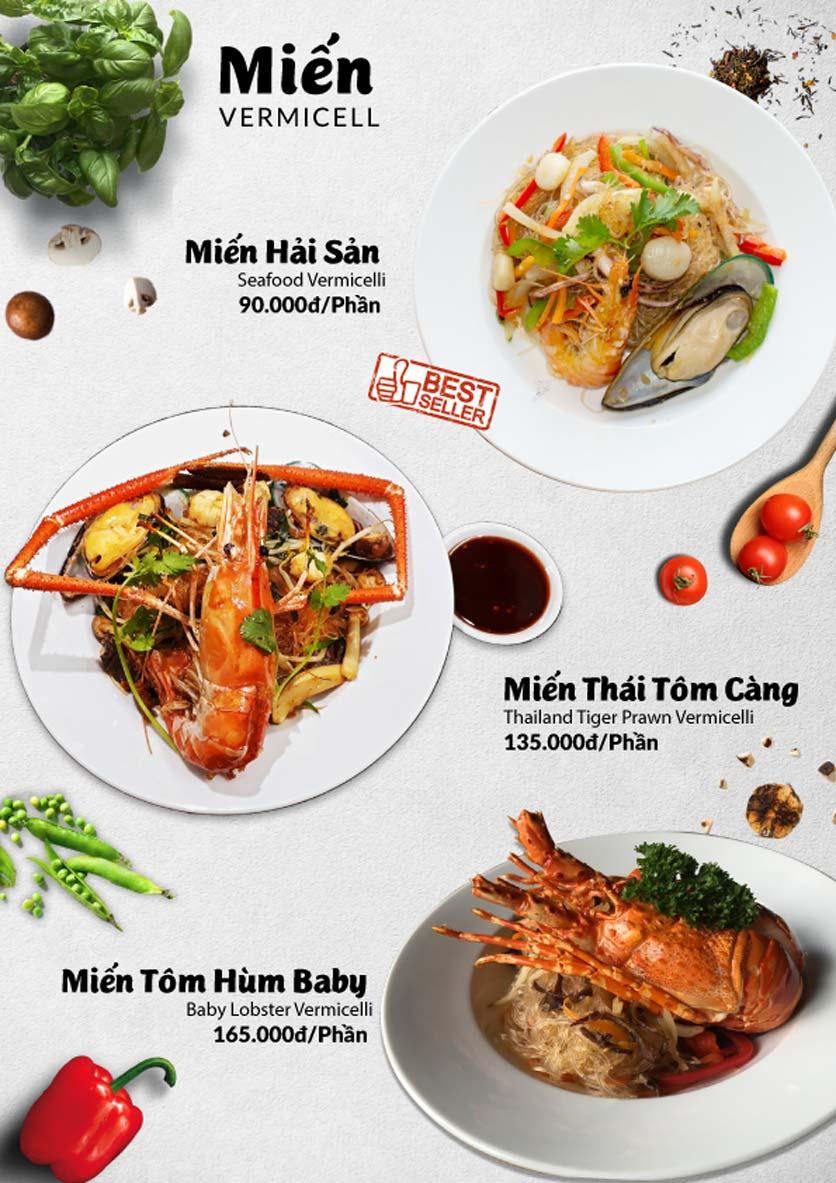 Menu Lobster Bay – Nhà hàng hải sản kiểu Mỹ – Nguyễn Tri Phương 45