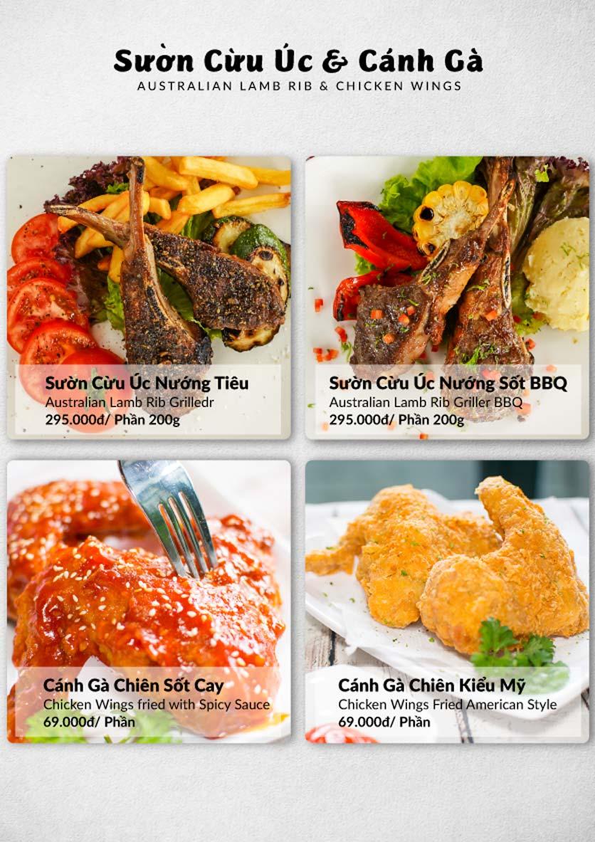 Menu Lobster Bay – Nhà hàng hải sản kiểu Mỹ – Nguyễn Tri Phương 49
