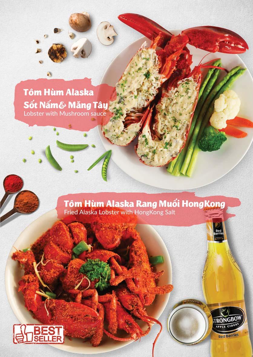 Menu Lobster Bay - Nhà Hàng Hải Sản Kiểu Mỹ - Kỳ Đồng 5