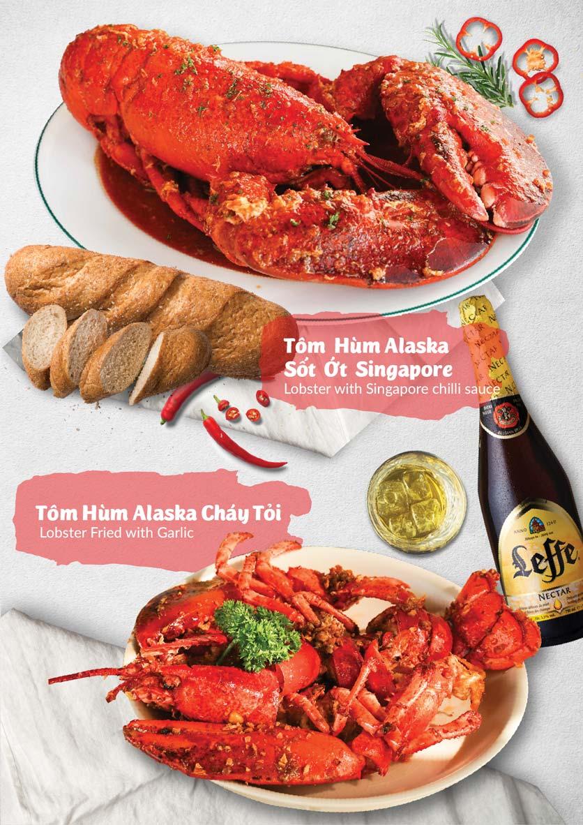 Menu Lobster Bay - Nhà Hàng Hải Sản Kiểu Mỹ - Kỳ Đồng 6