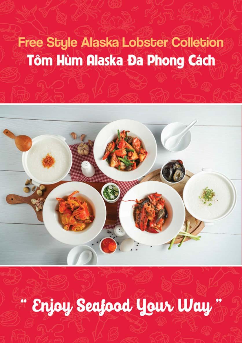 Menu Lobster Bay – Nhà hàng hải sản kiểu Mỹ – Nguyễn Tri Phương 8