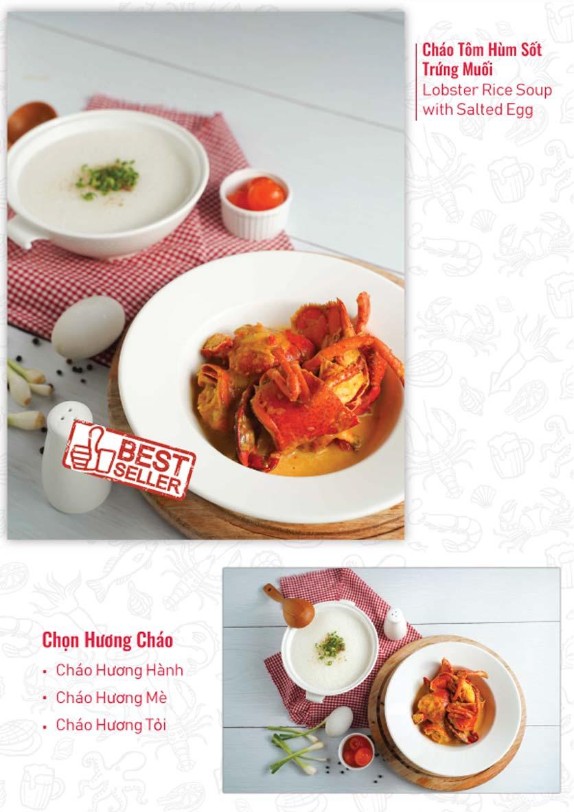 Menu Lobster Bay – Nhà hàng hải sản kiểu Mỹ – Nguyễn Tri Phương 9