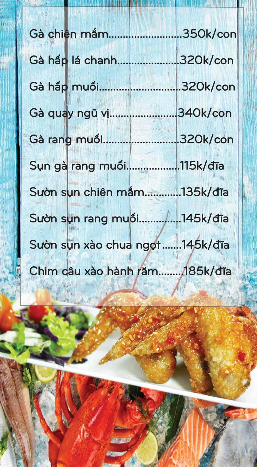 Menu Mê + -  Nguyễn Hoàng 2