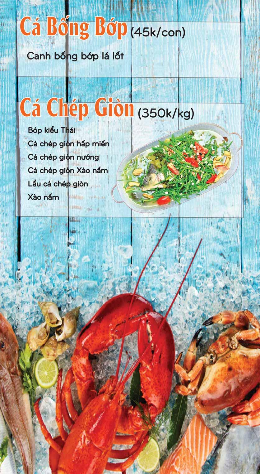 Menu Mê + -  Nguyễn Hoàng 11