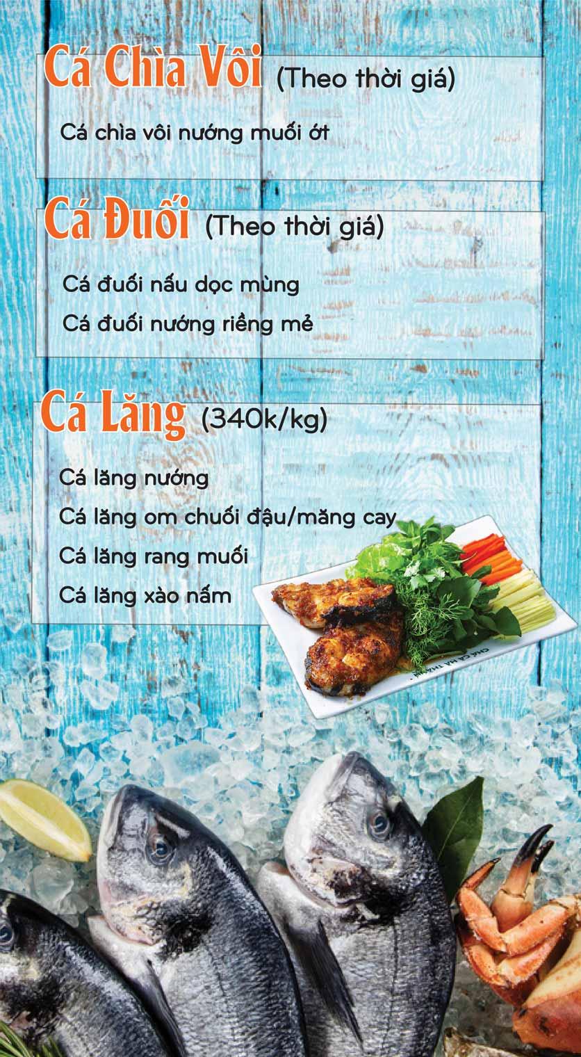 Menu Mê + -  Nguyễn Hoàng 12