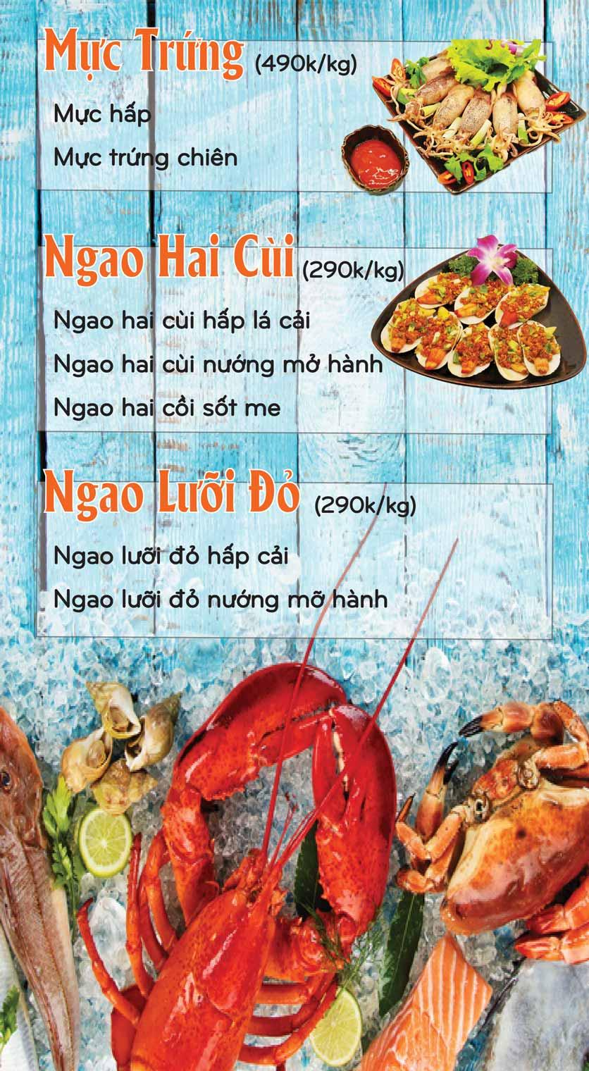 Menu Mê + -  Nguyễn Hoàng 15