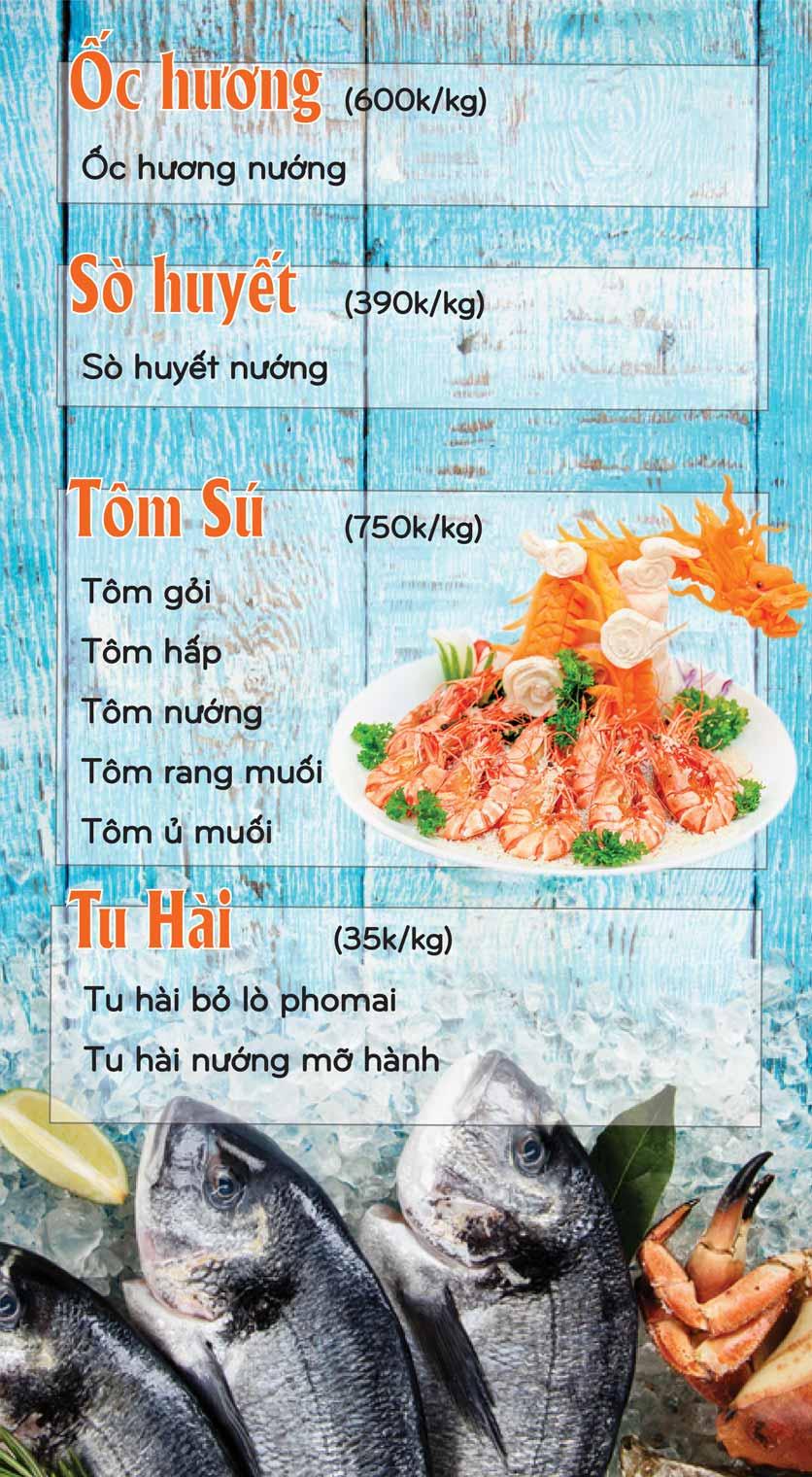 Menu Mê + -  Nguyễn Hoàng 16