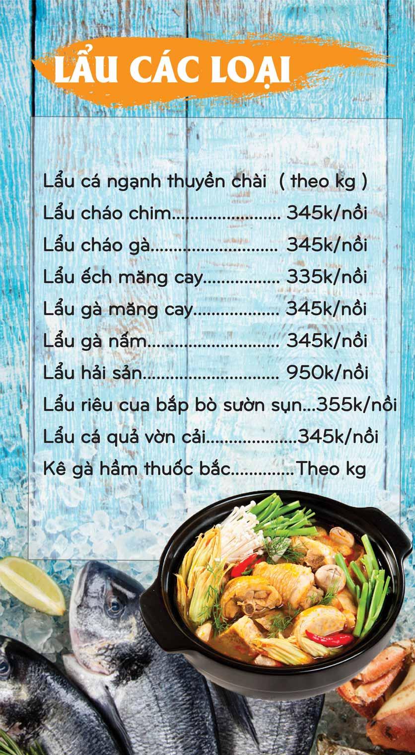 Menu Mê + -  Nguyễn Hoàng 17