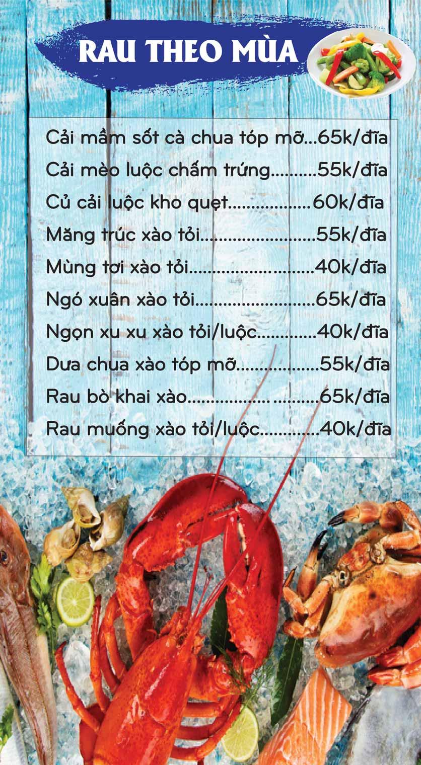 Menu Mê + -  Nguyễn Hoàng 4