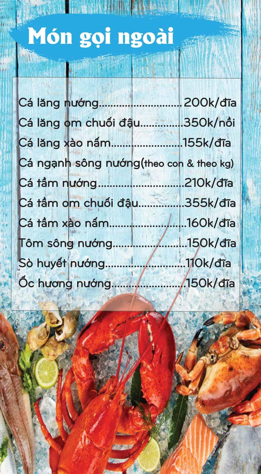 Menu Mê + -  Nguyễn Hoàng 6