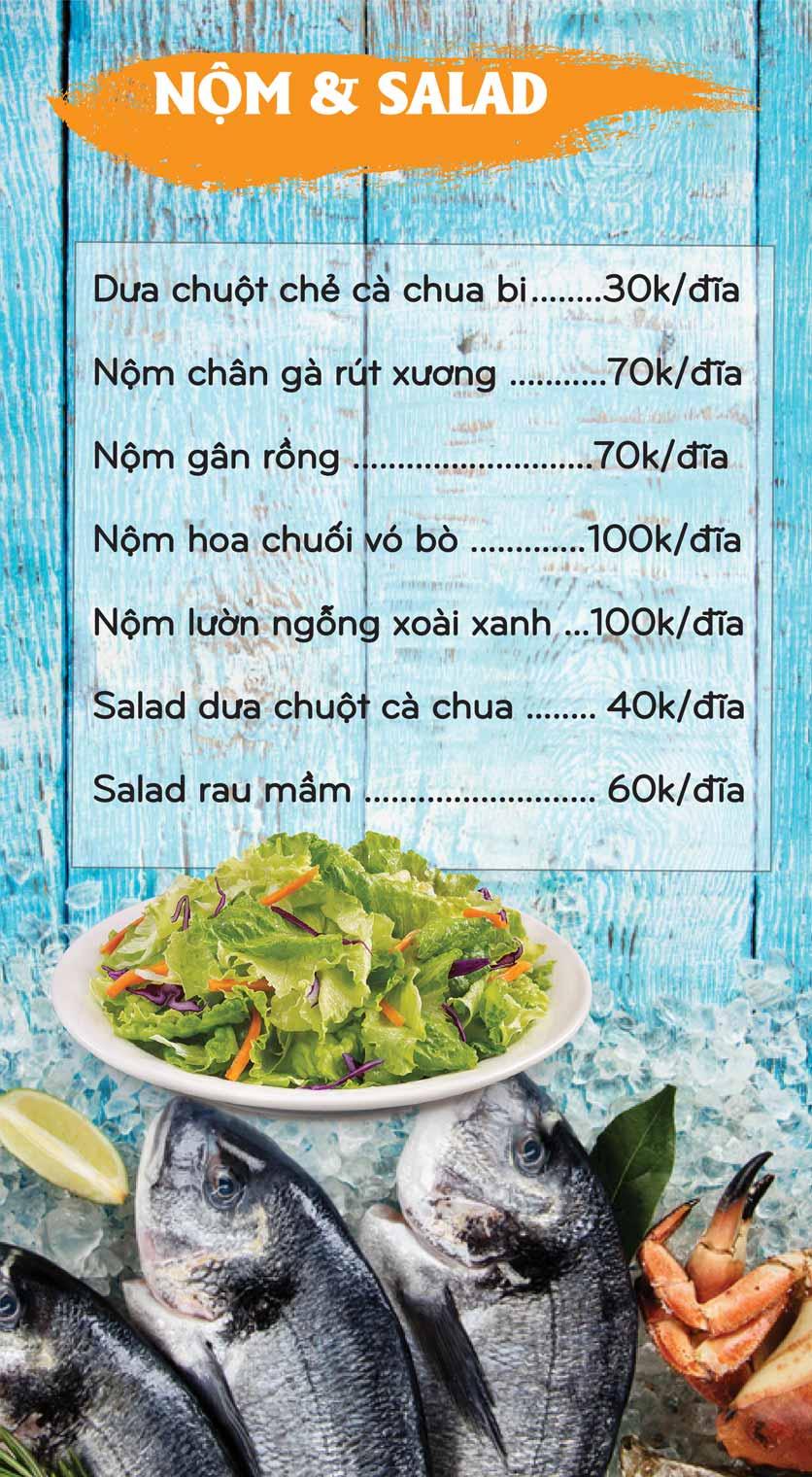 Menu Mê + -  Nguyễn Hoàng 8
