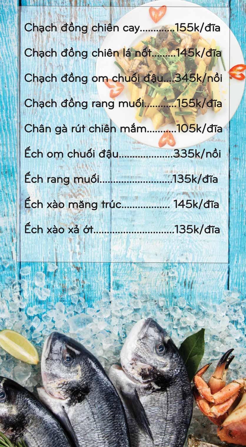 Menu Mê + -  Nguyễn Hoàng 9
