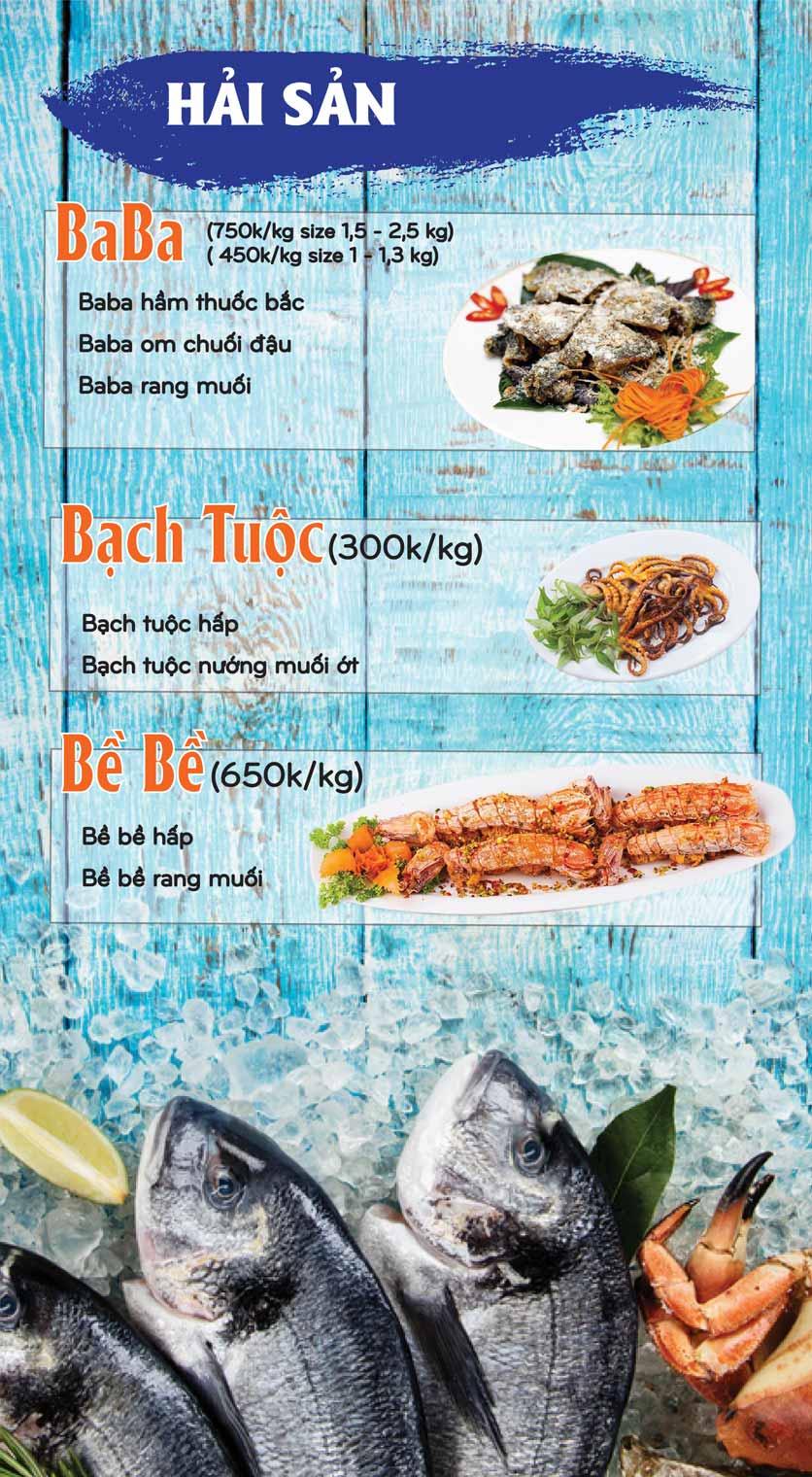 Menu Mê + -  Nguyễn Hoàng 10