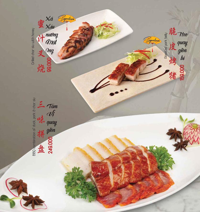 Menu Meiwei - Láng Hạ 2
