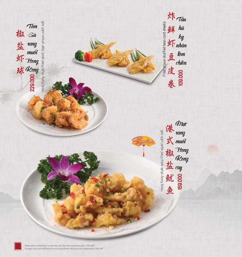 Menu Meiwei - Láng Hạ 21