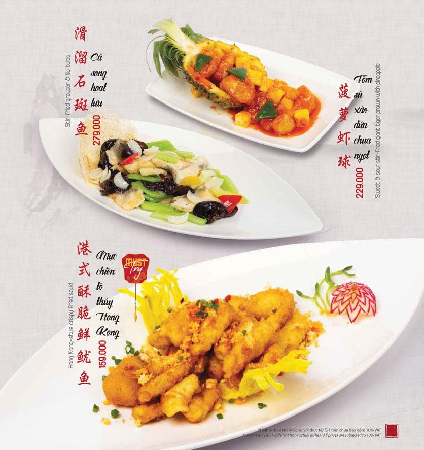Menu Meiwei - Láng Hạ 22