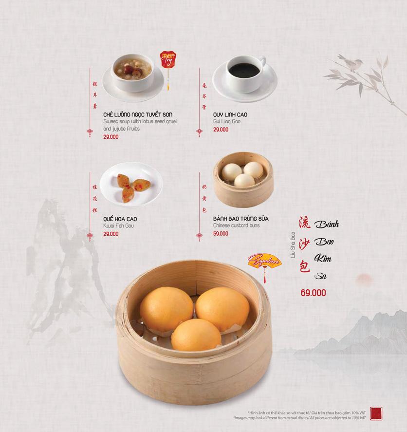 Menu Meiwei - Láng Hạ 24