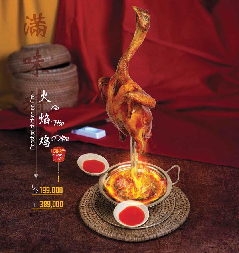 Menu Meiwei - Láng Hạ 3