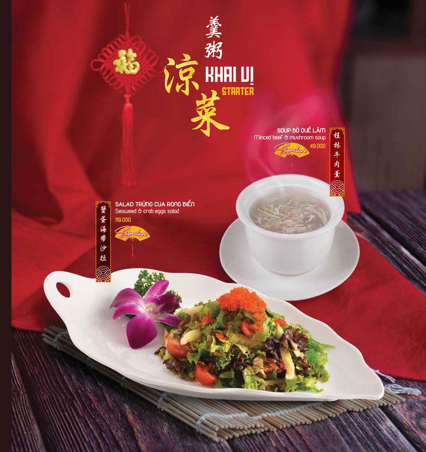 Menu Meiwei - Láng Hạ 4