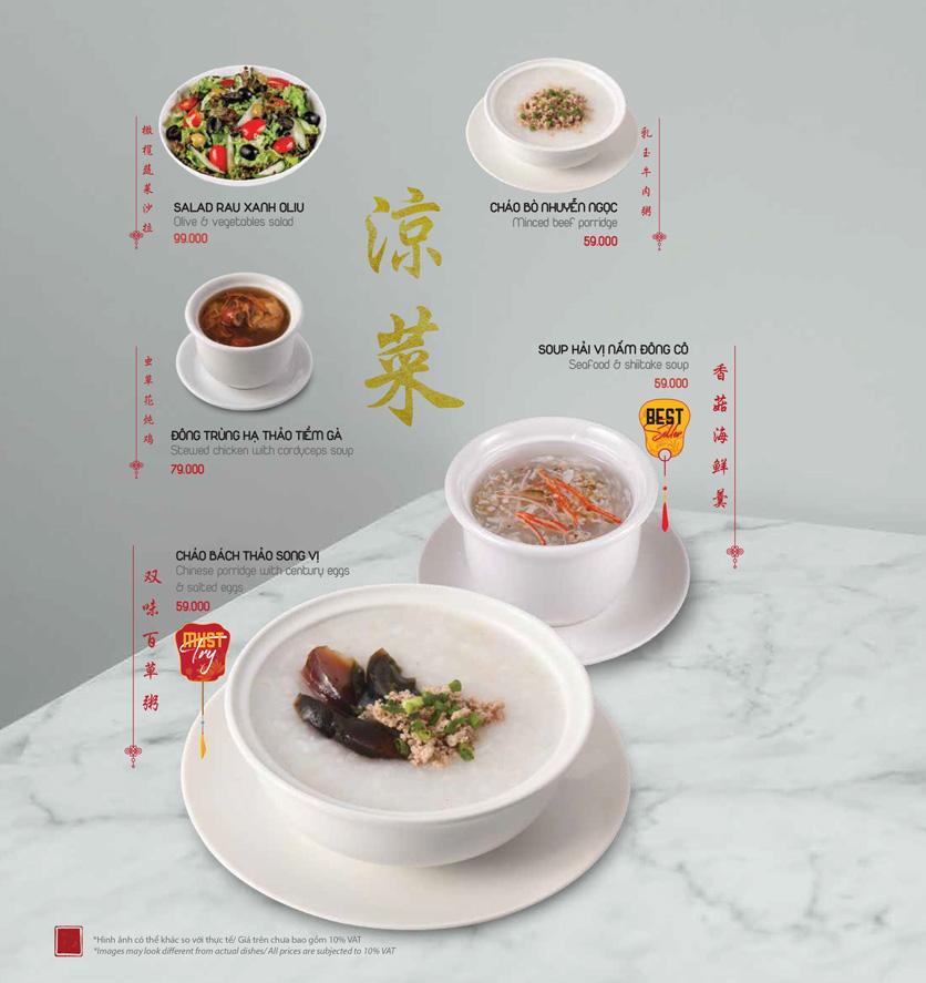 Menu Meiwei - Láng Hạ 5