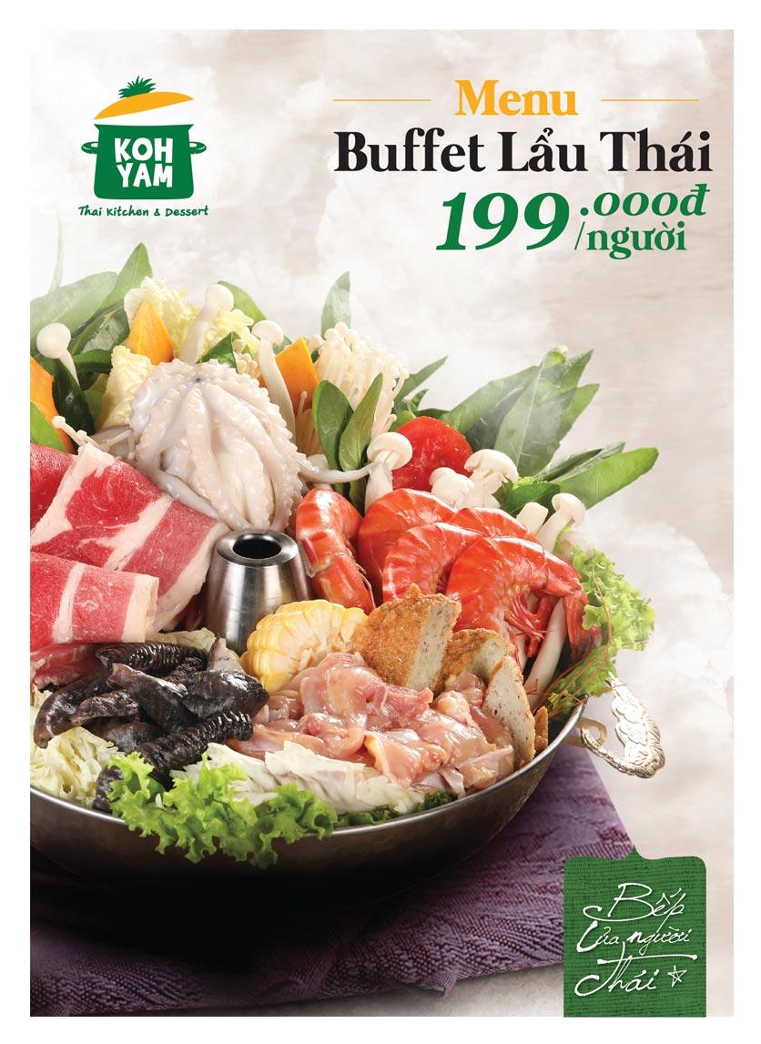 Menu Bếp Thái Koh Yam - Bà Triệu  1
