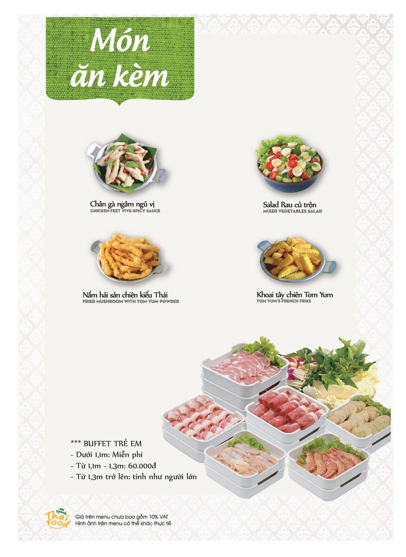 Menu Bếp Thái Koh Yam - Bà Triệu  2