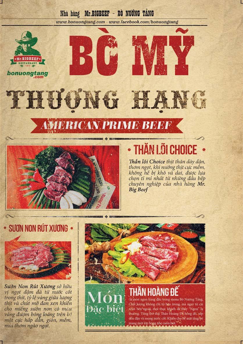 Menu Mr.Bigbeef Bò Nướng Tảng - Nguyên Hồng 2