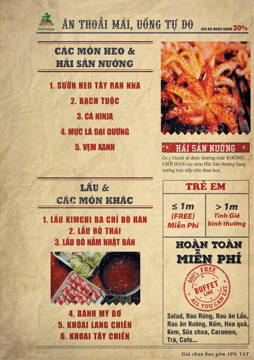 Menu Mr.Bigbeef Bò Nướng Tảng - Nguyên Hồng 5