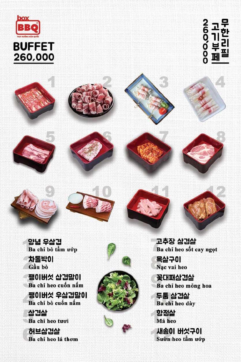 Menu Box BBQ - Đỗ Quang 1