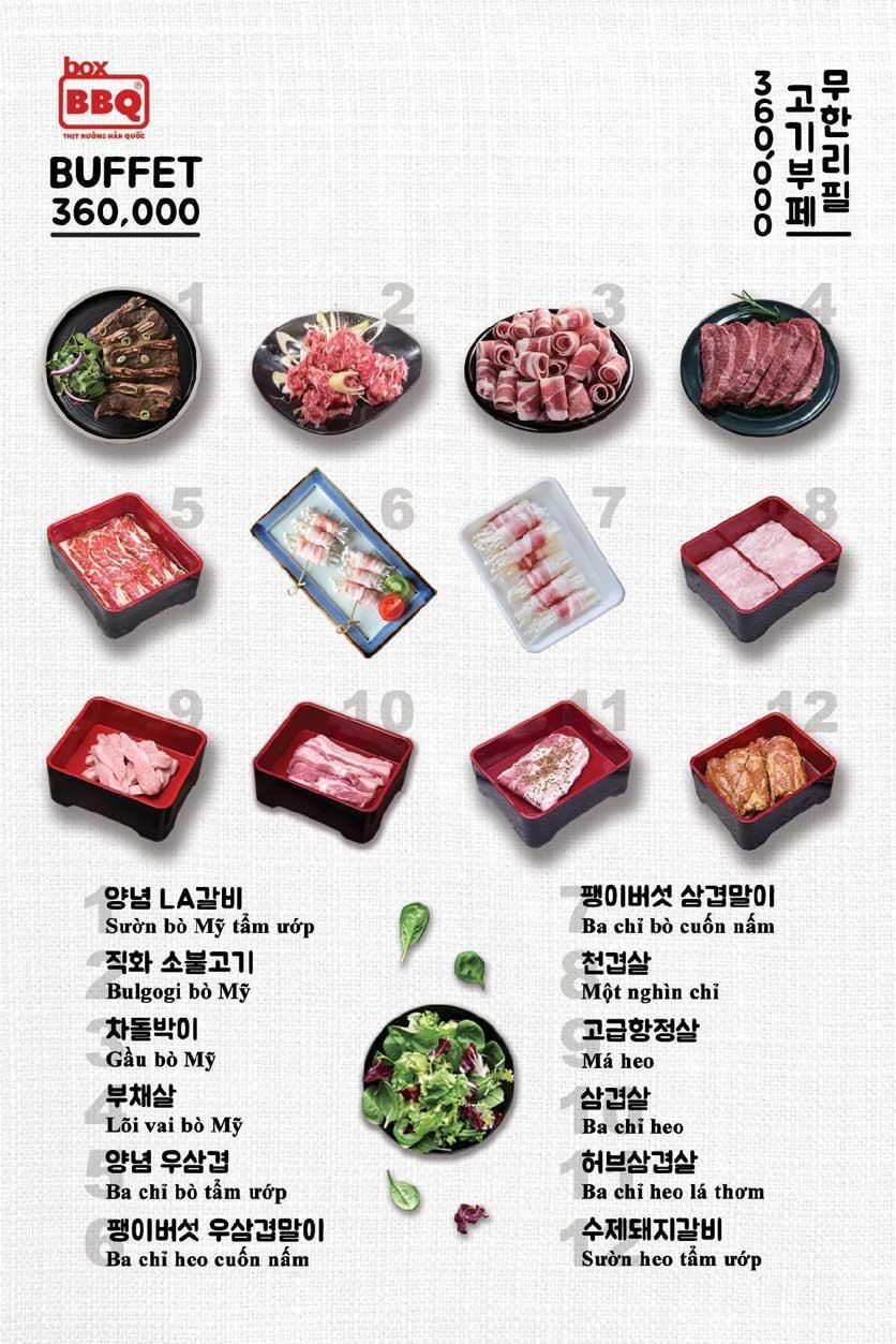 Menu Box BBQ – Nguyễn Thị Thập 3