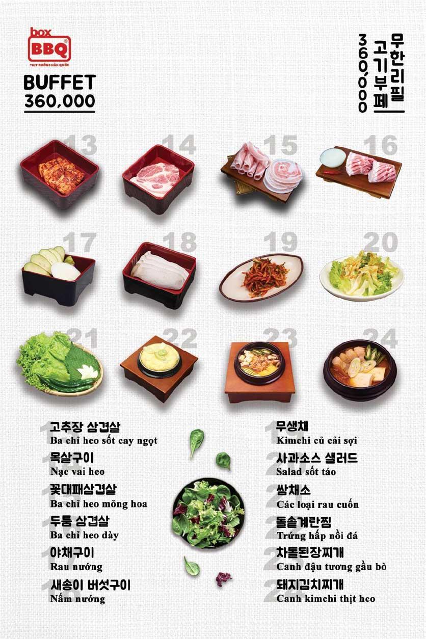 Menu Box BBQ - Đỗ Quang 4