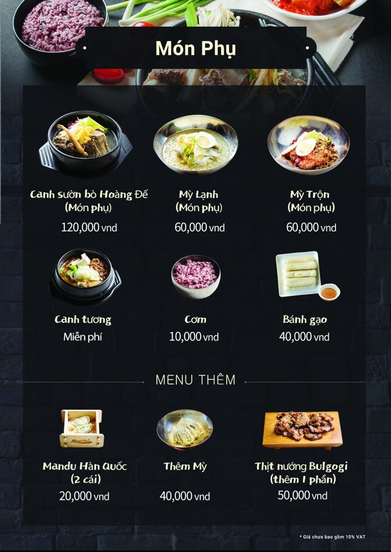Menu Meat Plus - Royal City 3