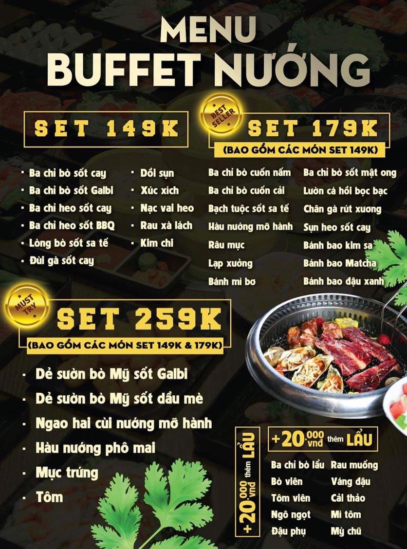 Menu Deli 4B BBQ & Hotpot - Võ Thị Sáu 1