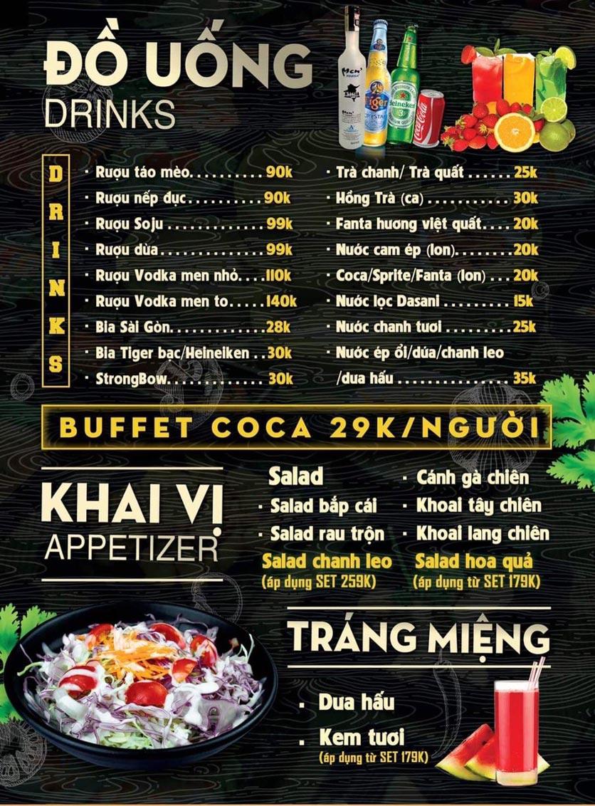 Menu Deli 4B BBQ & Hotpot - Võ Thị Sáu 4