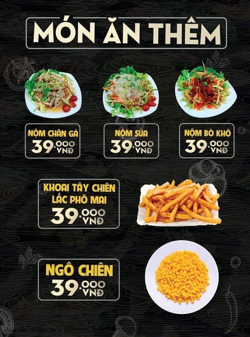 Menu Deli 4B BBQ & Hotpot - Võ Thị Sáu 5