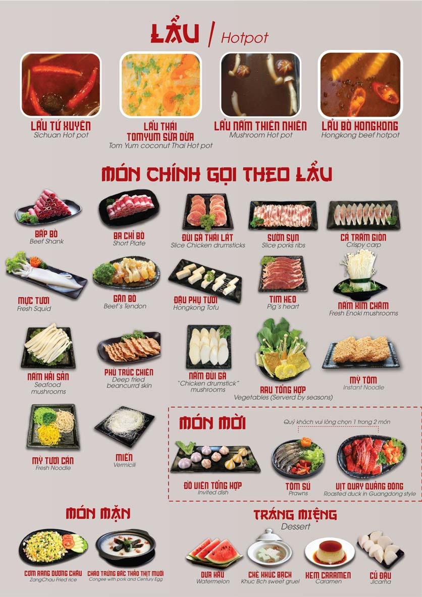 Menu Nhà hàng Dimsum & Lẩu Trung Hoa - FengHuang – Linh Đàm 6